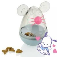 Mainan Kucing Anjing Malcolm Bola Makanan Tumpah
