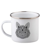 Custom Gelas Mug Enamel Foxy Premium Custom