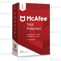 McAfee® Total Protection™ Software Antivirus 2018(1 Device/3 Years)
