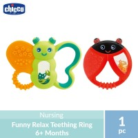 Chicco Funny Relax Teething Ring 6M+