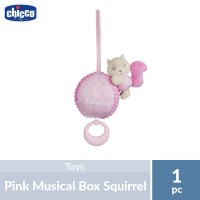 Chicco Musical Box Squirrel Pink