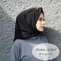 Jual Jilbab instan \u002F Pashmina instan murah \u002F Kerudung hitam : Murah