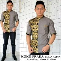 Baju Koko Prodo Emas Pekalongan