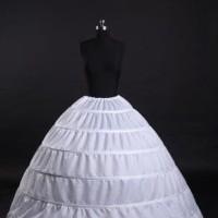 Harga petticoat 6 ring ballgown pengembang baju pengantin 6 hoops | antitipu.com