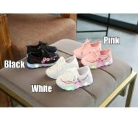 Sepatu LED anak/ Led Sakura Flowers Shoes