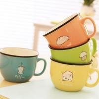 Gelas / Mug Enamel cangkir Warna peralatan minum dapur - KHM270