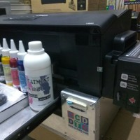 Mesin sablon kaos printer DTG A3 epson L series