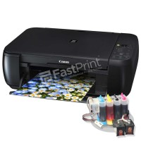 Paket Printer Modifikasi Damper Canon MP287 Plus Dye Based Anti UV