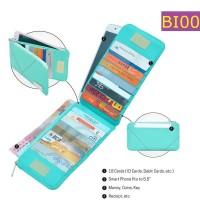 Dompet Mini Brighton Simpan Uang 18 Kartu Dan HP - BI001