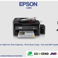 PRINTER EPSON L565 Multifunction ( wifi print copy scan fax ethernet )