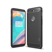 Hard Soft Case OnePlus 5T One Plus Casing HP IPAKY Carbon Silikon 360