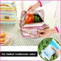 Tas Bekal Makan Anak Panas Dingin - Iconic Insulated Lunch Bag SALUR