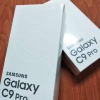 SAMSUNG GALAXY C9 PRO 6/64GB HITAM GARANSI RESMI SEIN NOT S8 S9 A8 J8