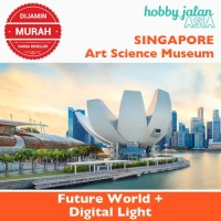 Harga art science museum future world and digital light tiket dewasa | antitipu.com