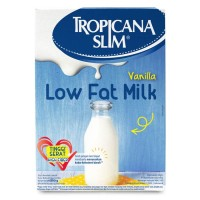 Tropicana Slim Milk Low Fat Vanilla 500gr