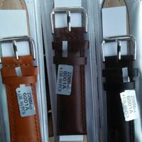 Jual tali kulit jam tangan/ strap genuine leather / kulit Murah