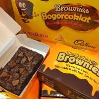 Brownies toblerone uk 15x10cm (via jne yes/go send)