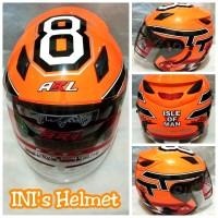 Helm Half Face SNI Centro ARL double visor bukan INK KYT NHK