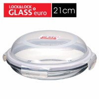 LOCK&LOCK Heat Resistant Glass Dome Style Container 21cm LLG884