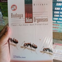 BUDAYA DAN IKLIM ORGANISASI By Wirawan
