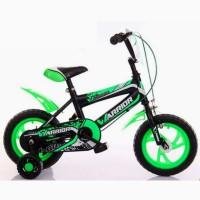 Sepeda Anak Warrior EVA Boy BMX 2-4 Tahun 12 Inci Steel Caliper BanEVA