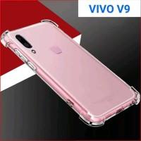Softcase TPU Anti Crack Ultra Slim Cover Case Casing Lentur HP Vivo V9