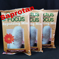 MEDIA TANAM CACTUS & SUCCULENT FOCUS Repotting Mix 2 Liter