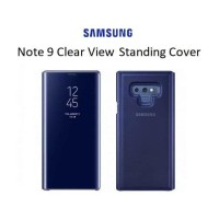 Cover note 9 SAMSUNG Clear View Standing Cover Galaxy Note 9 BLUE