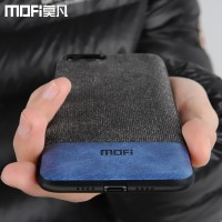 edge men business fabric shockproof case coque MOFi xiaomi mi 6 case91