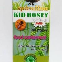 Spirulina Kid Honey plus Propolis - Madu anak cerdas & penguat tulan