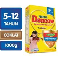 DANCOW ADVANCED EXCELNUTRI 5+ Coklat Box 1000g [ 2 Box ]
