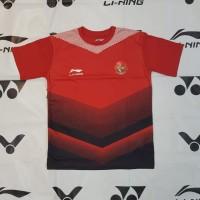 Jersey BAJU BOLA GRADE ORI TIMNAS Indonesia Home 2018/19 - LINING