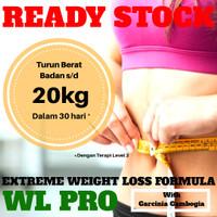 WL Pro Garcinia Cambogia Obat Diet Pelangsing Penurun Berat Badan