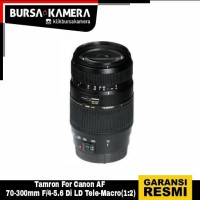 TAMRON LENSA For Canon AF 70-300mm F/4-5.6 Di LD Tele-Macro
