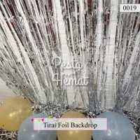 Tirai Rumbai Foil / Curtain Foil / Backdrop Foil