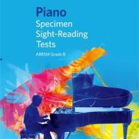Buku Piano ABRSM Specimen Sight Reading Tests Grade 8 From 2009