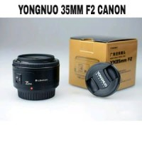 Lensa YN 35mm f2 for canon Lensa Yongnuo 35mm f2 Lensa Fix Can Limited