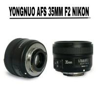 Lensa Yongnuo 35mm f2 Nikon Lensa Fix Afs Nikon Berkualitas