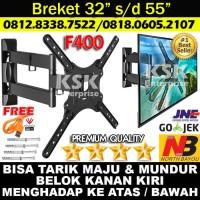 Bracket Tv LCD LED Breket TV North Bayou D-400F 32 40 42 46 50 52 Inch