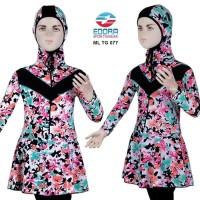 Jual Baju Renang Anak SD Muslim Muslimah Cewek Perempuan ML- Diskon