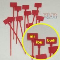 MERAH LABEL Kabel Tis 10cm Cable Ties Tie 100mm