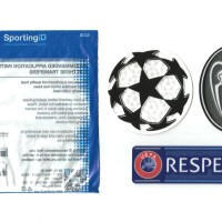 Patch Starball + BOH 9 + Respect. Real Madrid. Original Patch.