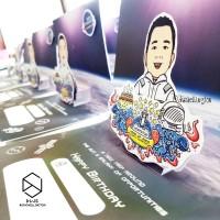 Custom Kartu Ucapan Ulang Tahun Kado Unik Souvenir Perusahaan Medan
