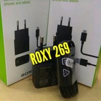 Charger Carger Hp Sony Xperia M M2 M4 Aqua Plus Mini Compact Docomo FA