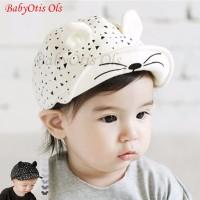 Topi Anak Topi Bayi Topi Lucu Cute Cat Hat