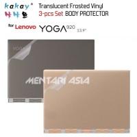 Body Protector Lenovo YOGA 920 - KAKAY Premium Translucent VINYL