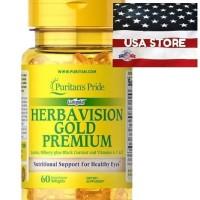 PURITAN HERBAVISION GOLD PREMIUM 60 CT PURITAN'S PRIDE HERBA VISION
