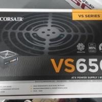 Corsair VS Series VS650 PSU ATX Power Supply True Gaming 650W 650 watt