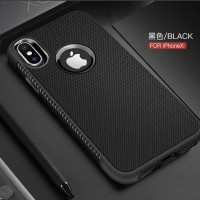 Softcase TPU Shockproof Black Matte Cover Case Casing HP Oppo F3 A77