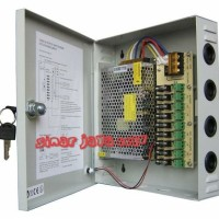 POWER SUPPLY BOX ADAPTOR CCTV 12V 10A